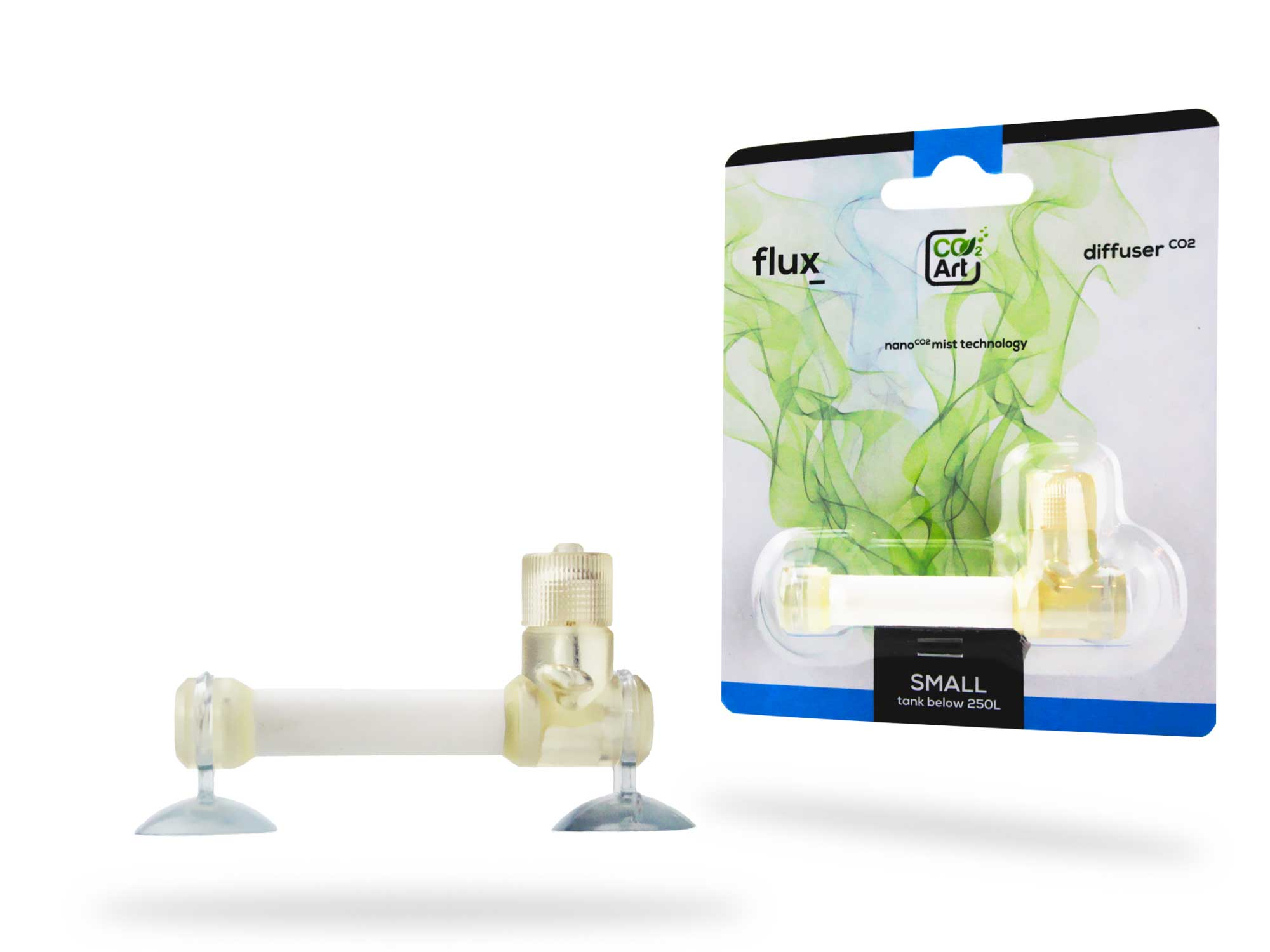 NEW In-Tank Bazooka Flux_ CO2 Diffuser for Planted Aquariums (Small) For Tanks Less Than 250 Litres